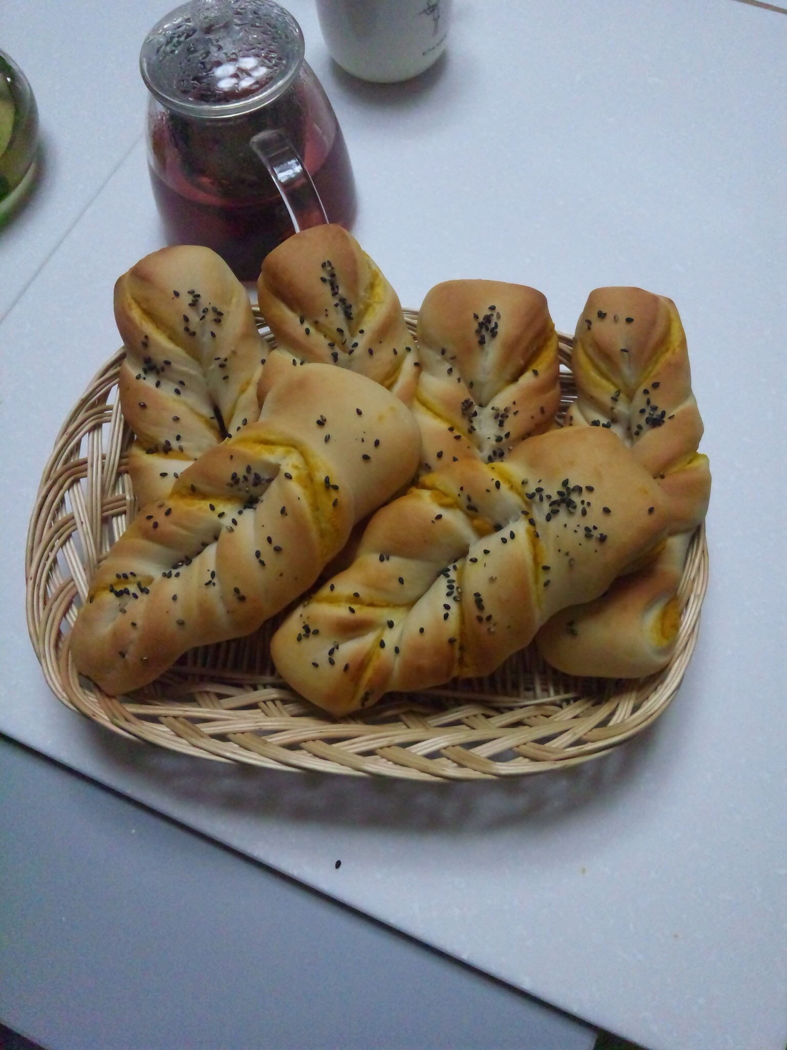 昨日はパン教室